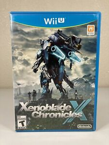 Rare — Xenoblade Chronicles X -Wii U-2015- Great Condition — Free Shipping
