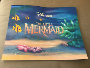 Disney's The Little Mermaid Exclusive Lithograph Portfolio 4 Lithos for Framing