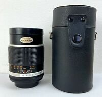 Vintage Panagor Camera Lens 135mm Auto Tele 2.8 M42 Mount With Case