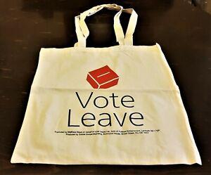 """VOTE LEAVE"" Official Brexit Campaign Canvas Shopping Bag"
