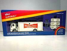 Siku  Eurobuilr   Ford Cargo Beverage 'Budweiser'  Delivery Truck Die-cast 1/55