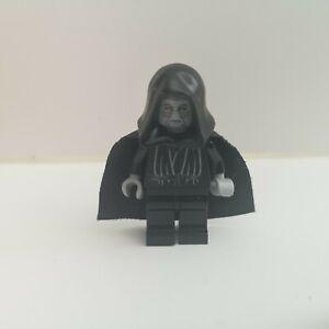 Lego - Star Wars - Emperor Palpatine, Grey Head - Genuine Minifigure (sw0124)
