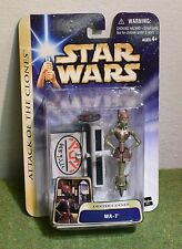 STAR WARS CARDED SAGA ATTACK OF THE CLONES AOTC WA-7 DEXTERS DINER