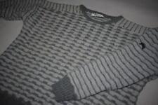 Boss jersey de punto suéter Sweater Knit sudadera hugo 80er vintage alpaca S-M