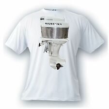 Mercury Mark 35 A 40 hp outboard motor vintage image t-shirt