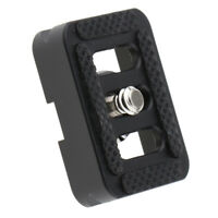 Camera Quick Release Plate Adapter for SIRUI TYC10 & C Series - Black