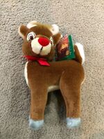 """RUDOLPH THE RED NOSED REINDEER Island Of The Misfit Toys 11"""" STUFFED ANIMAL NEW"""