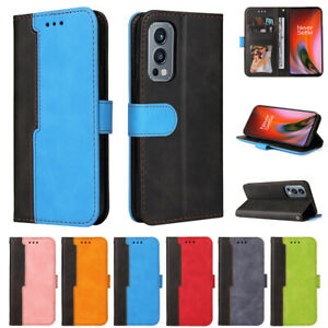 Case For Oneplus 9 Pro Nord 2 N200 5G Shockproof Flip Leather Wallet Card Cover