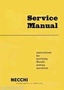HOW to REPAIR NECCHI BF / BU MIRA, NOVA SEWING MACHINE SERVICE MANUAL *PDF/CD