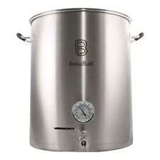 BrewBuilt 50 Gallon Brew Kettle with Thermo and Bazooka screen