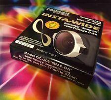 Raynox QC-303 0.3X SEMI-Fisheye ULTRA Wide Angle Lens 27mm 34mm 37mm 30.5mm 30mm