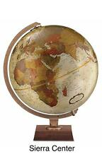 Replogle Northwoods 12 Inch Desktop World Globe Bronze Metallic