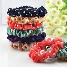 10pcs Lots Fashion Sweet Girls Elastic Hair Band Hairband Ponytail Holder