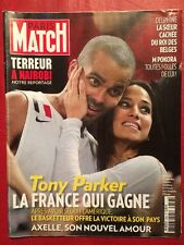 Paris Match 26/09/13 Tony Parker - M Pokora - James Franco - Papous - Avicii