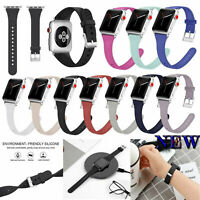New Silicon Wrist Band Strap Belt for Apple Watch iWatch 1 2 3 4 38/40/42/44mm