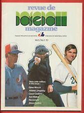 Vintage 1973 Montreal Expos Magazine-Vol.5/No.2