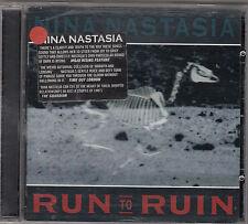 NINA NASTASIA - run to ruin CD
