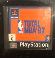 Total NBA 97 PS1 Game Rare Vintage Complete With Manual