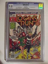 Logan's Run #1 - Marvel Comics, 1977 - CGC 9.8 - Movie Adaption - 0248042005