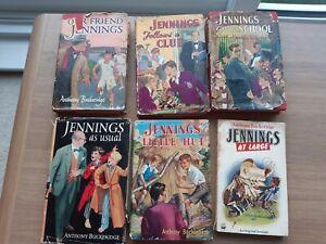 Vintage Jennings books by  Anthony Buckeridge