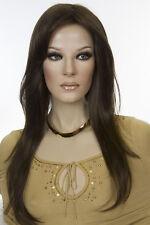 Lola 8 Brunette Long Monofilament Jon Renau Straight Wigs