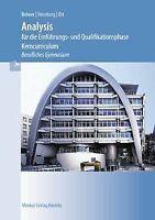 Analysis für die Einführung- und Qualifikationsphase von... | Buch | Zustand gut