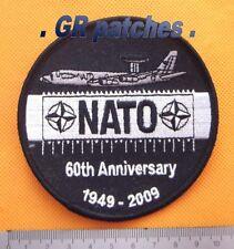 NATO Awacs 60 jahre Luftwaffe Armee Militärisch Menge Stoff Flicken