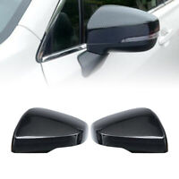 For Subaru Forester 2019-20 Carbon Fiber look Side Rearview mirror Cover Trim cl