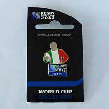 Rugby World Cup RWC 2011 Italy Player Pin