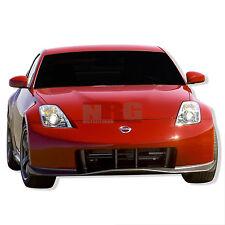 for 350z 03-08 Nissan Poly Fiberglass Front bumper body kit
