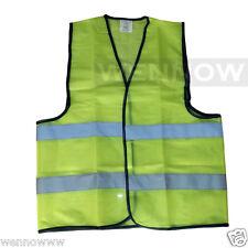 Green Fluorescent Safety Vest w/ Hook & loop closure - XL