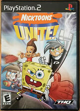 Nickelodeon Spongebob Squarepants Games Playstation 2 Ps2 Tested