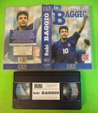 VHS film IO ROBI ROBERTO BAGGIO LOGOS TV SP01RB98 (F35) no dvd