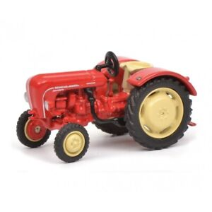 SCH26415 - Tracteur rouge PORSCHE Standard -  -