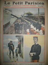 FACTEUR ALPES Lt DE CAUMONT SAINT-CYR DUC DE CONNAUGHT LE PETIT PARISIEN 1911