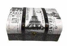 Punch Studio Keepsake Box/Trunk/Chest - Paris French France Decorative Decor