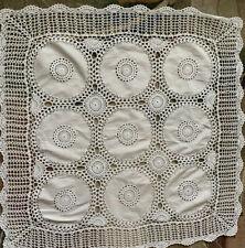 Vintage German Tablecloth Crochet Handmade