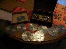 """Antique Thorens Ad30 4½"""" disc player, Made in Sainte-Croix Switzerland, C-1915"""