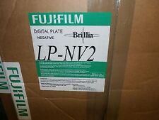 FUJIFILM Digital Plate Negative LP-NV2 Brillia 400x510x0.15 Brand New