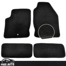 For 00-07 Ford Focus Black Nylon Front & Rear OEM Factory Fitment Floor Mats