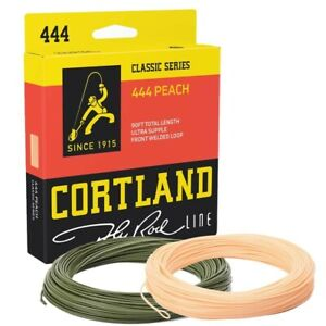 Cortland 444 Peach Classic Floating Fly Line * New 2021 Stocks *