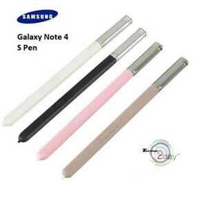 Official Samsung Galaxy Note 4 Stylus S Pen Black, White, Gold GH98-33618