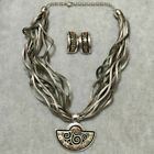 M.FREY WILLE set of Earrings and Necklace, good condition,