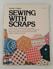 Booklet Sewing With Scraps by Reader's Digest 1976 Fabric Craft Projects Sew