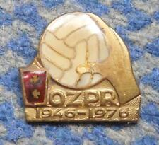 POLAND dist. GDANSK 30 ANNIVERSARY(1946-1976) FEDERATION HANDBALL RARE PIN BADGE