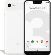 Google Pixel 3 XL 64GB Clearly White, TOP Zustand, Display Burn-In