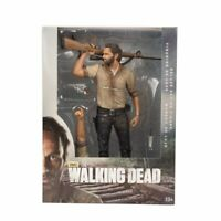 The Walking Dead RICK GRIMES Andrew Lincoln Action Figure Mcfarlane 25cm Deluxe