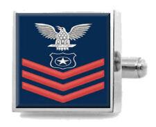 Sterling Inciso Gemelli U.S Navy Red E-6 Master a braccia ma