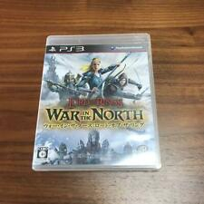 PS3 Lord of the Rings War in the North  06342  Japanese ver from Japan