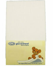 New DK glovesheet chicco next2me & lullago fitted sheet 1 pack 83x50 cm in white